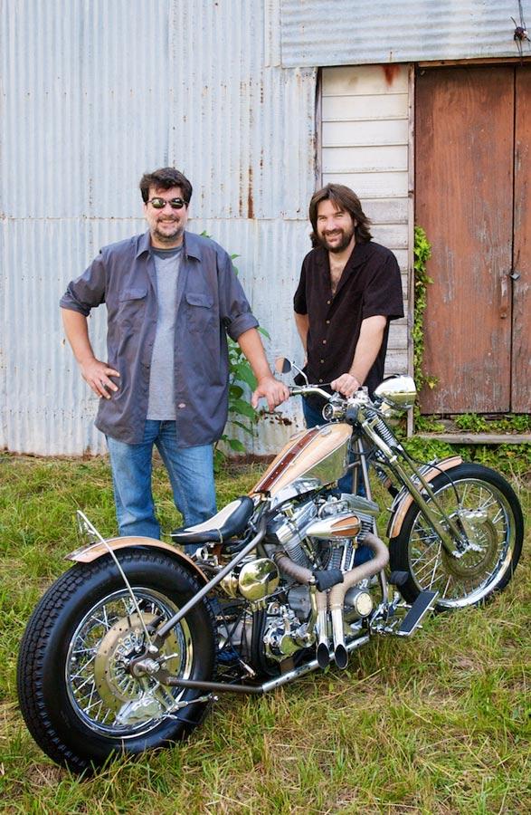 custom harley davidson brothers jeff and david