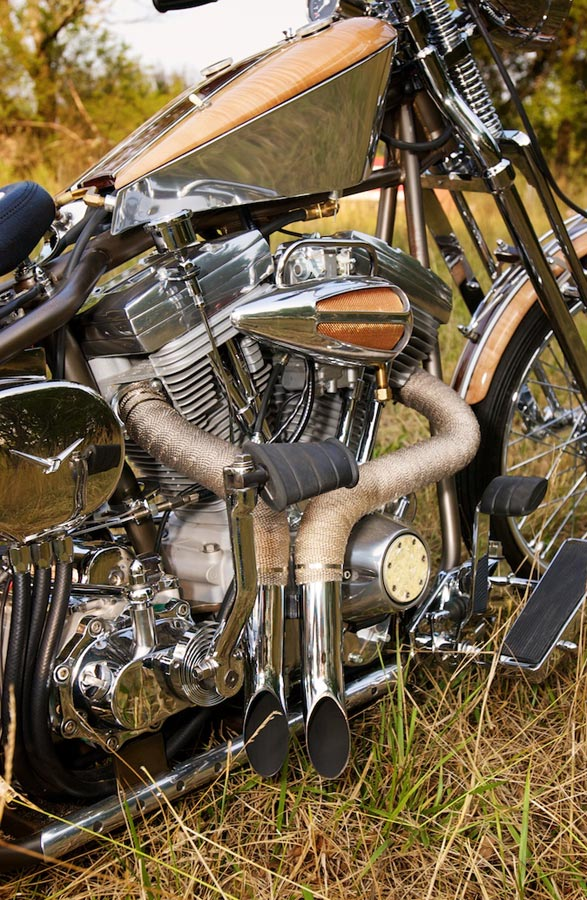 right side harley engine