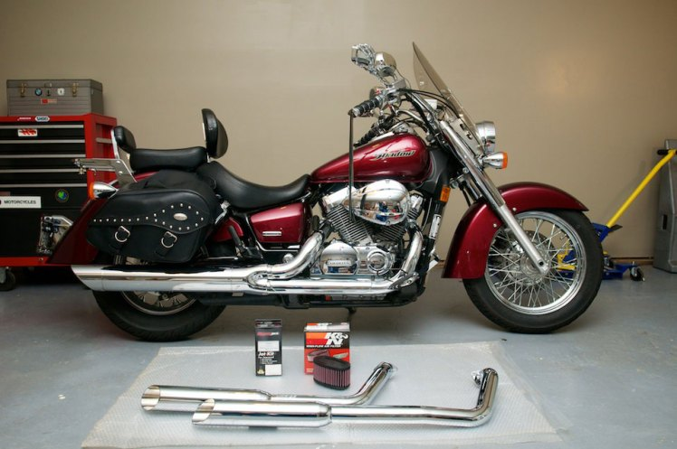 Honda Shadow Aero Performance Modifications The Bikers Garage