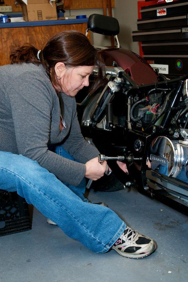 installing vance and hines exhaust honda aero