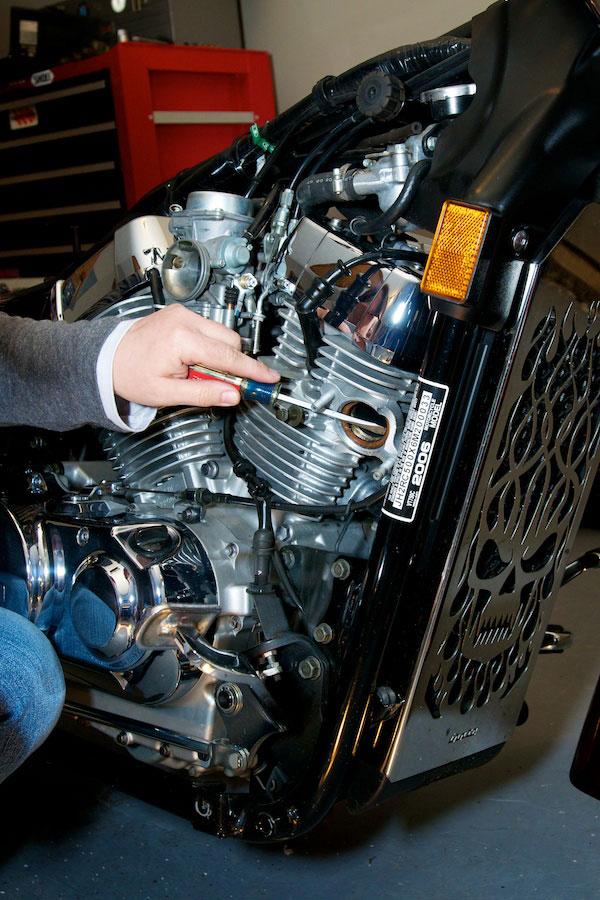 removing exhaust gasket honda aero