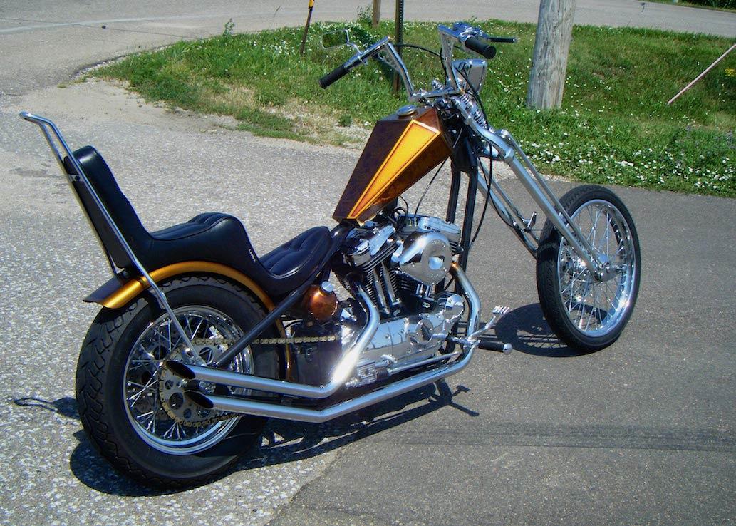 Harley Davidson Sportster Paugco Springer And Wheels