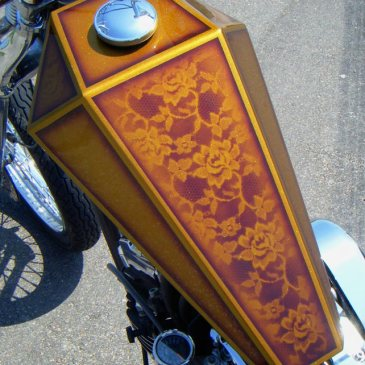paughco coffin gas tank sportster chopper