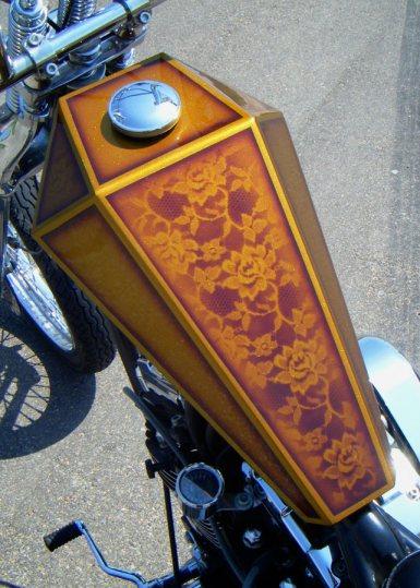 paughco coffin gas tank sportster chopper