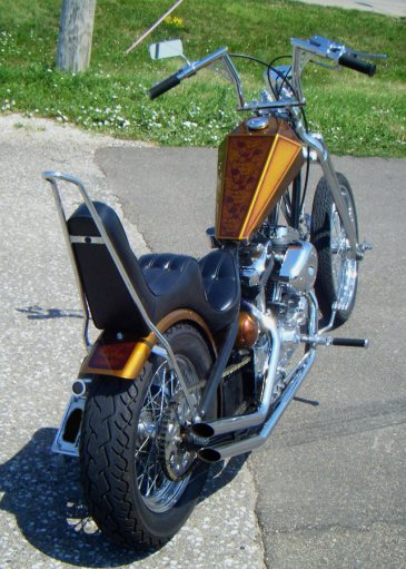 apehanger bars sportster chopper
