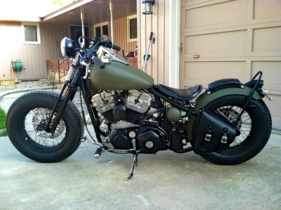 road 6 customs harley sportster hard tail conversion kit narrow