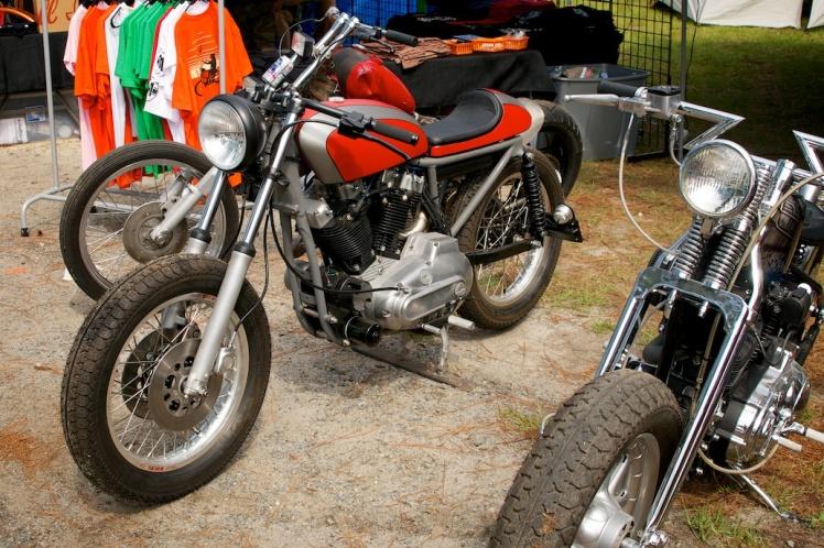 harley sportster custom tracker style