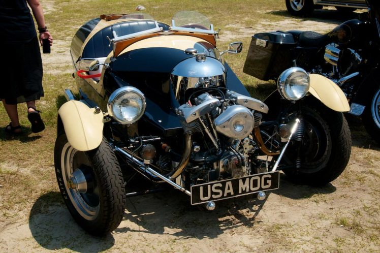 harley davidson powered morgan three wheeler