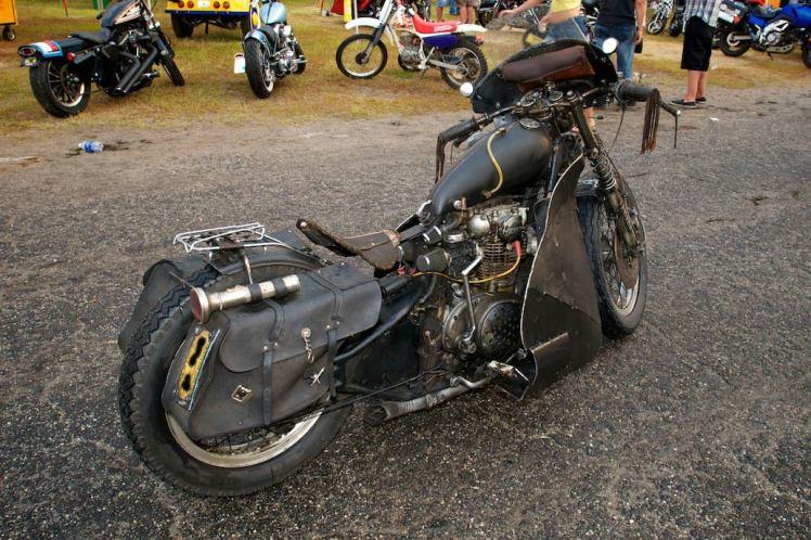 yamaha xs 650 rat bike