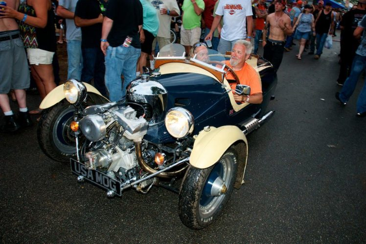 morgan three wheeler running