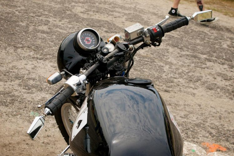 suzuki gs1100 drag bike handle bars
