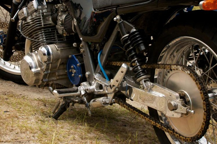 suzuki gs 1100 drag bike kosman swing arm