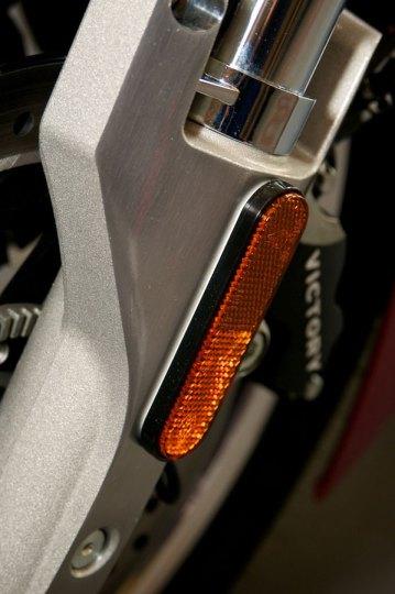 front dot mandated reflector