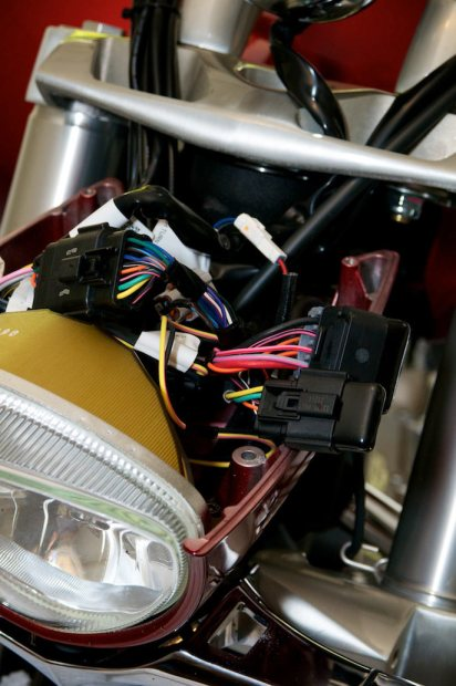 victory cross roads headlight wiring