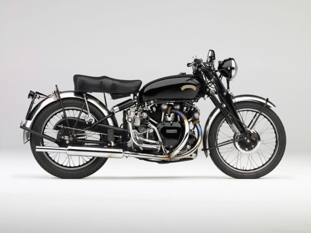 1951 vincent black shadow right side view