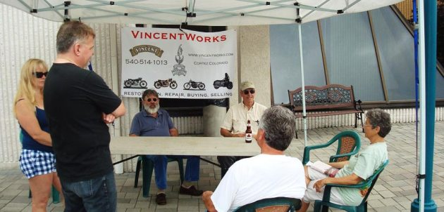vincent owners club rally niagara falls