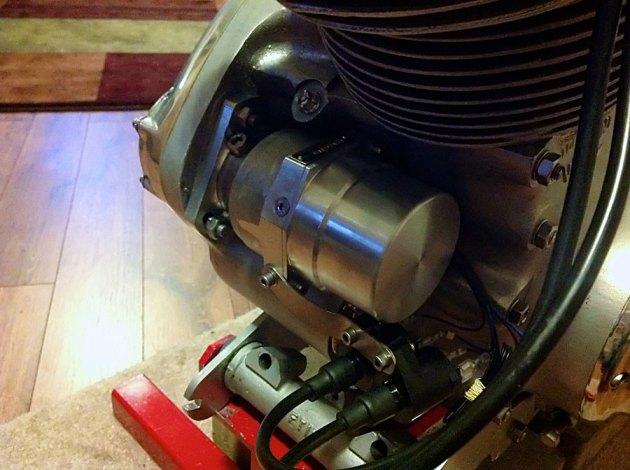 vincent engine magneto