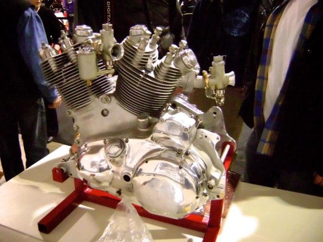 vincent engine stand show