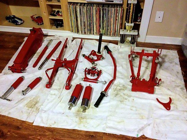 vincent frame parts