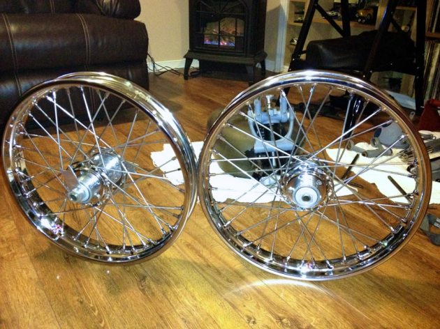vincent rapide wheels