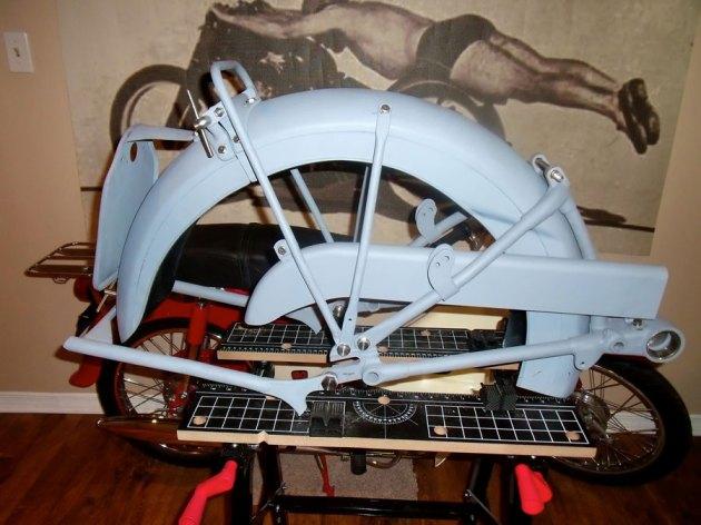 vincent rear frame fender