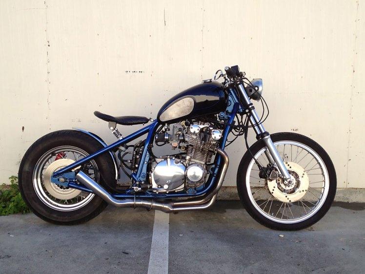 suzuki gs 1100 custom bobber