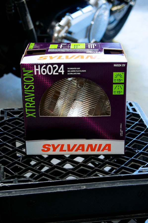 victory v 92 c headlight sealed beam sylvania h6024 xv
