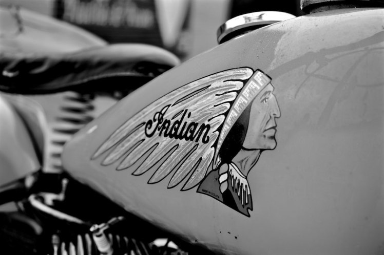 1941 indian scout bobber gas tank right side