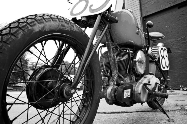 1941 indian scout bobber left hand side long view